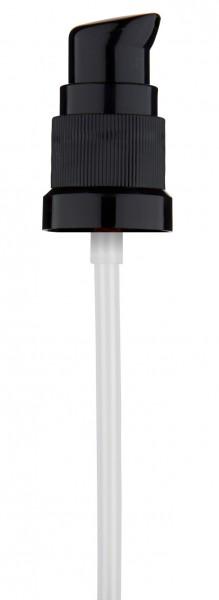 schwarze Dispenser-Pumpe