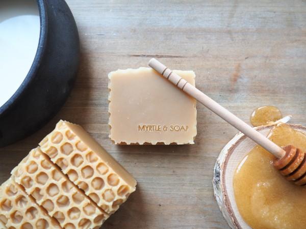 Honigseife HONEY POT für Hände & Körper, 100 g