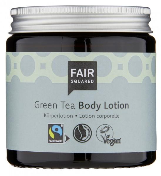 Body Lotion Green Tea, 100ml im Glas