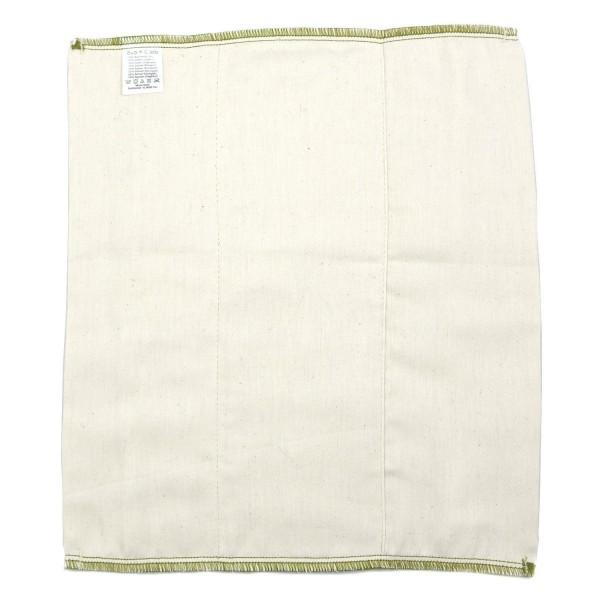 Prefolds aus Bio-Baumwolle, Größe 2 (33 x 37 cm)