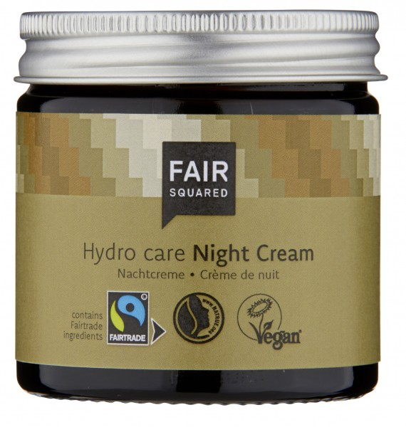 Gesichtscreme, Night Cream Hydro Care, 50ml im Glas