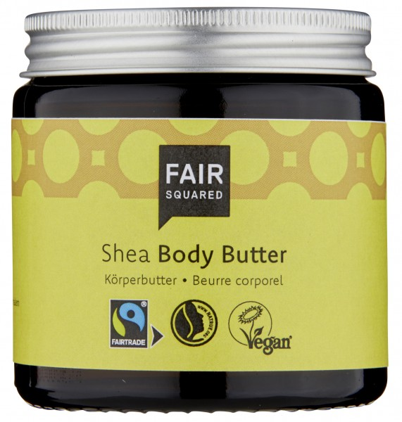 Body Butter Shea 100ml, im Glas