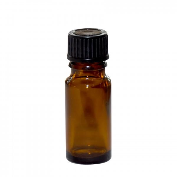 Tropfflasche braun, 10 ml mit Tropfer