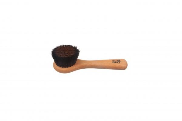 Gesichtsbürste, Buchenholz, ionisierend, Bronzedraht mit Roßhaar