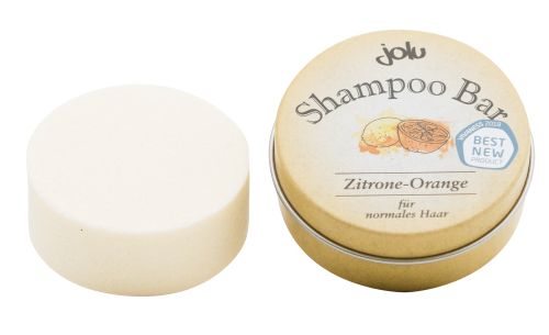 Shampoo Bar Zitrone-Orange, 50g
