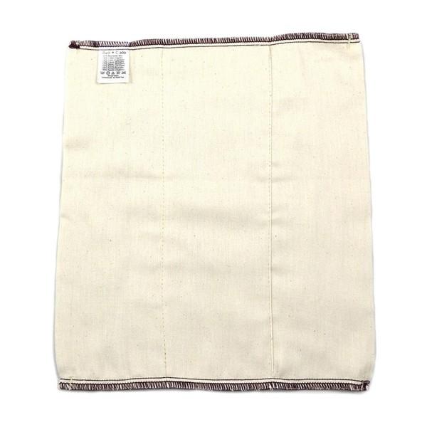 Prefolds aus Bio-Baumwolle, Größe 1 (28 x 29 cm)