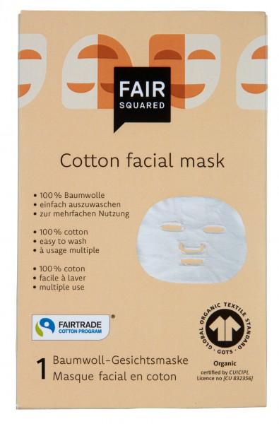 Baumwoll-Gesichtsmaske