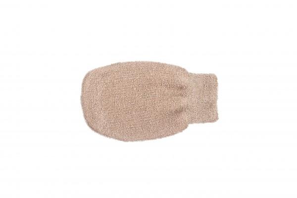 Massagehandschuh aus Leinen mit Kupfer