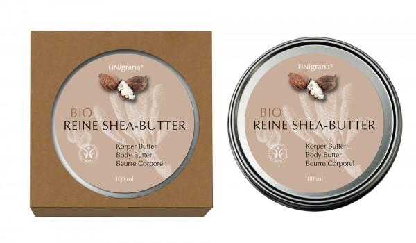 Reine Bio-Sheabutter, 100 ml