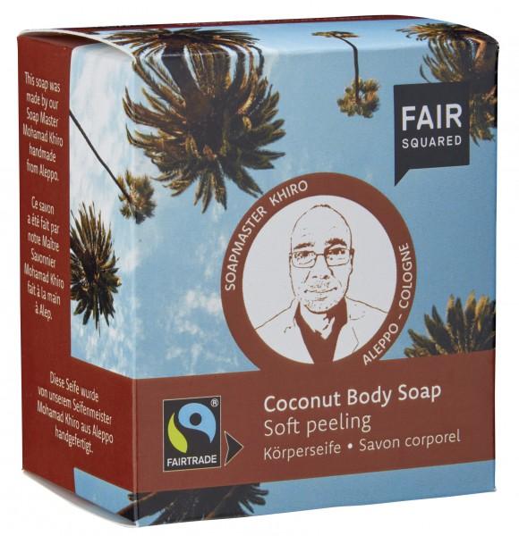 Körperseife Coconut Soft Peeling, 2x80 g
