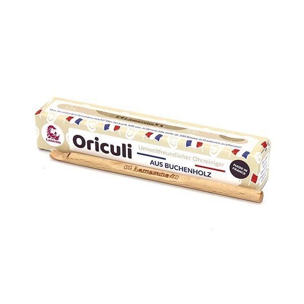 Oriculi Ohrenstäbchen aus Holz