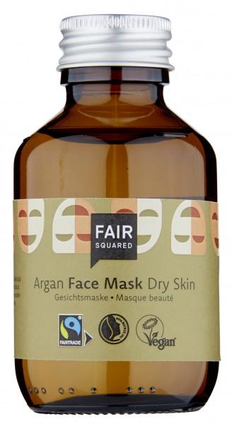 Gesichtsmaske, Argan, trockene Haut, 100 ml Glas