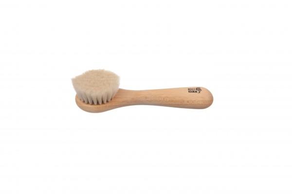 Gesichtsbürste aus Buchenholz, Ziegenhaar