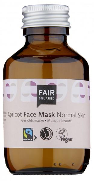 Gesichtsmaske, Aprikose, normale Haut, 100 ml Glas