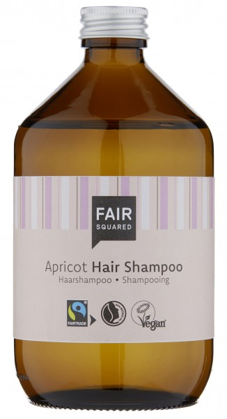 Fair Squared Shampoo Apricot Zero Waste, 500 ml
