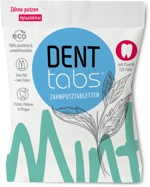 Denttabs Zahnputztabletten
