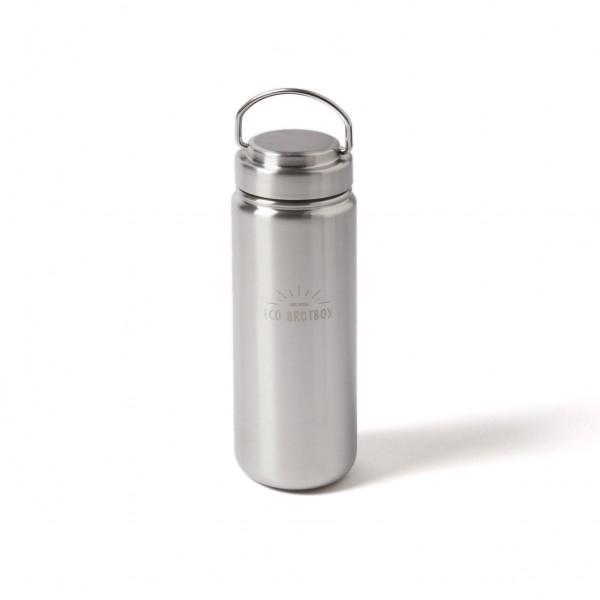 """Trinkflasche """"ZEN2"""" mit Schraubverschluss aus Edelstahl, Vol.: 0,8 l"""