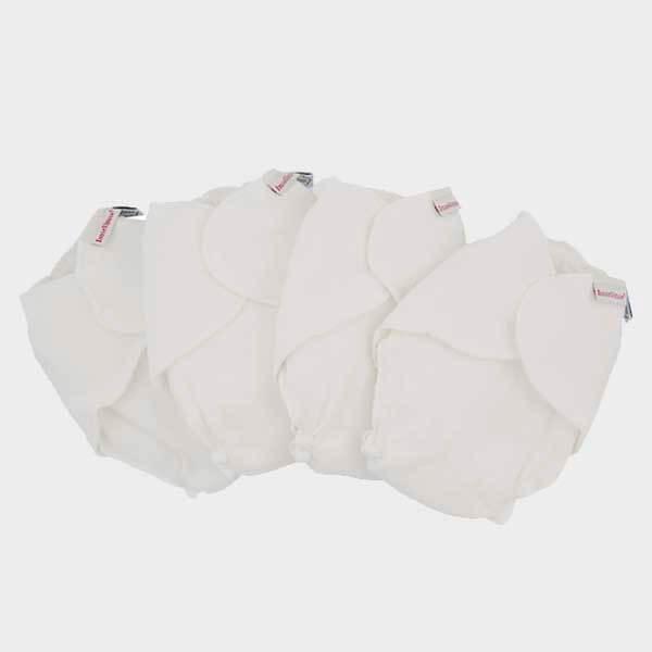 ImseVimse Höschenwindel / Stoffwindel aus 100% Baumwolle, 4 Stk., One-Size