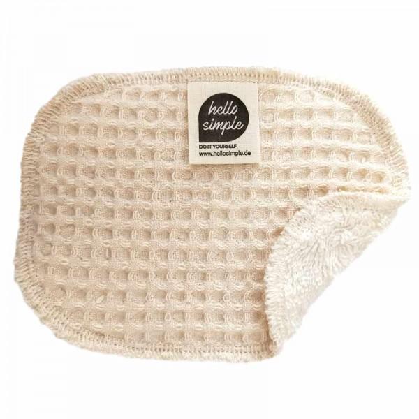 Spülschwamm aus 100% Bio-Baumwolle, natur